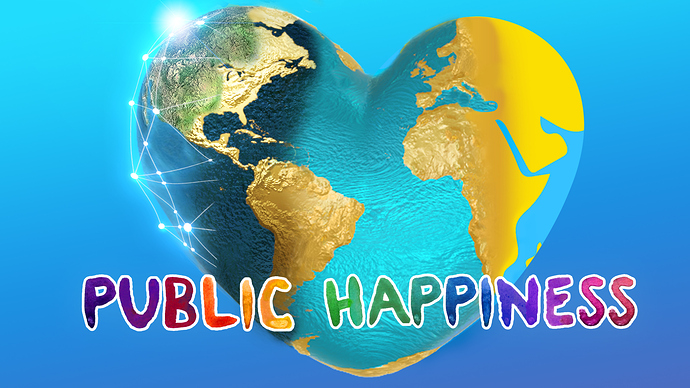 Public Happiness Banner